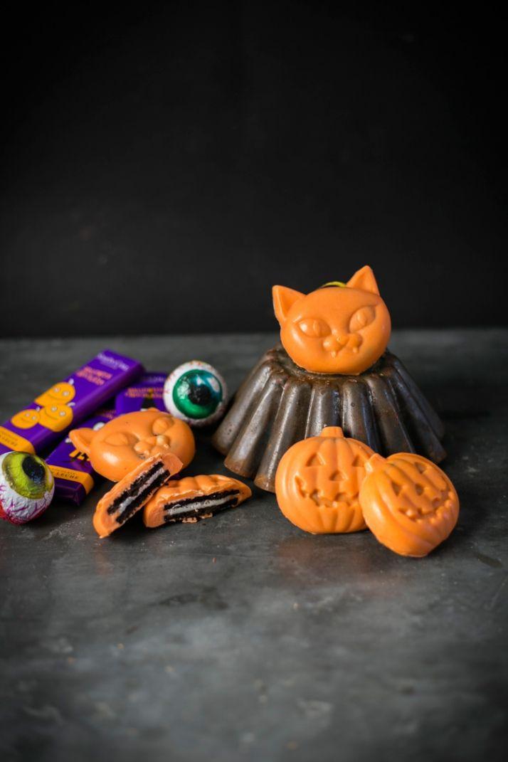 calabazas de chocolate halloween