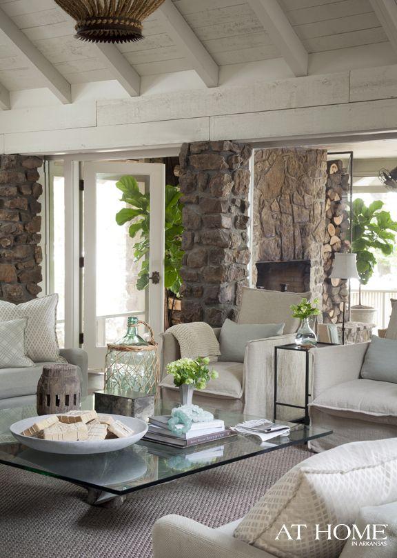 Designer Heather Chadduck, Lakeside Retreat,