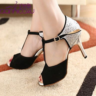 Fashion Customized Women's Sparkling Glitter Upper Dance Shoes(More Colors) – USD $ 39.99