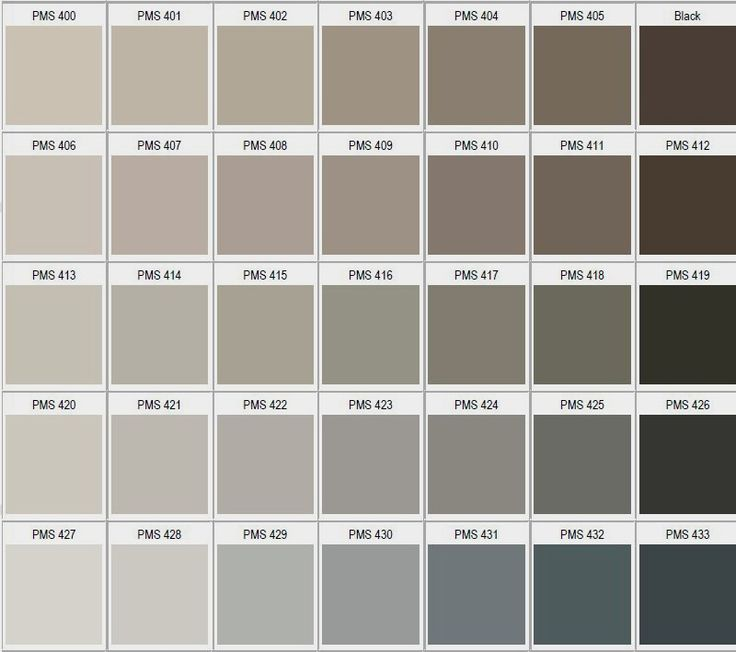 Pantone couleur taupe for Code couleur taupe