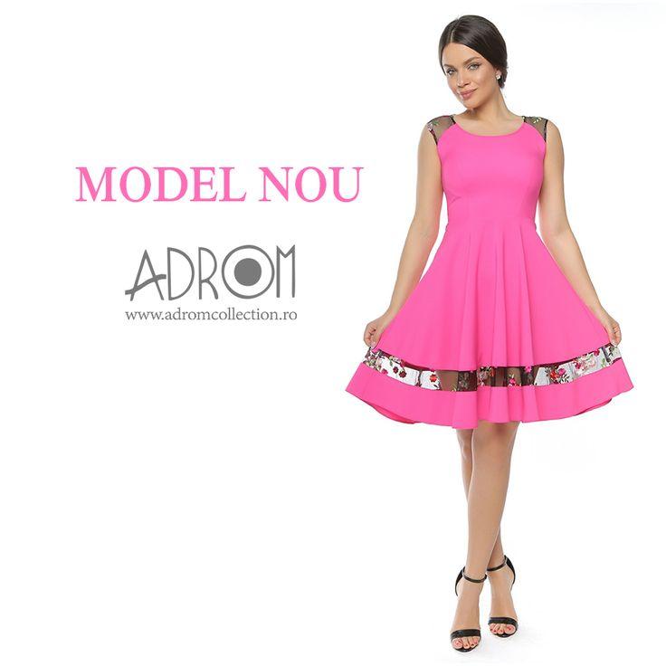 Introdu în magazinul tău modele pline de delicatețe, eleganță și feminitate, precum modelul R289-2. Link produs: http://www.adromcollection.ro/635-rochie-angro-r289-2.html