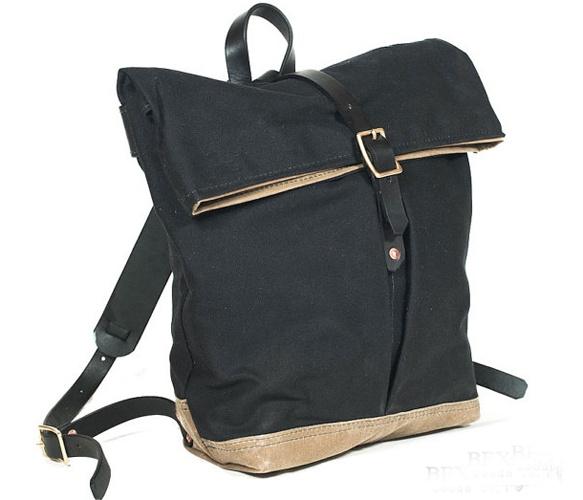 Urban Foldtop Backpack  by Bexar Goods