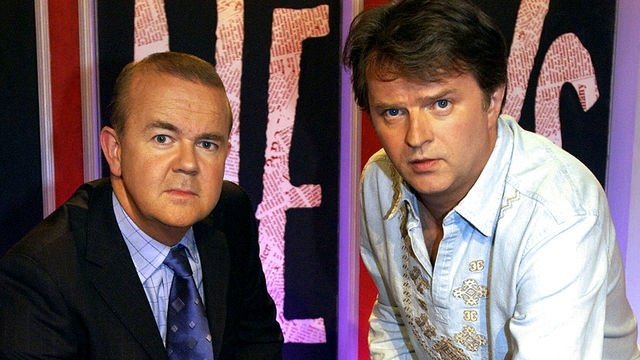 Ian Hislop and Paul Merton, team captains in Have I Got News For You