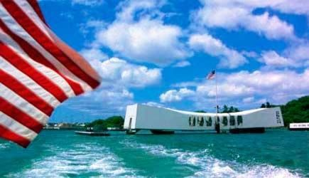 Pearl Harbor from Big Island includes round-trip airfare, rental car, tour of Pearl Harbor, & Waikiki Beach! Be free to plan your own day and save money!