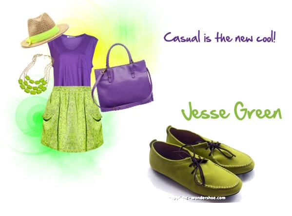 Make them green with envy. Introducing: Jesse Green :)