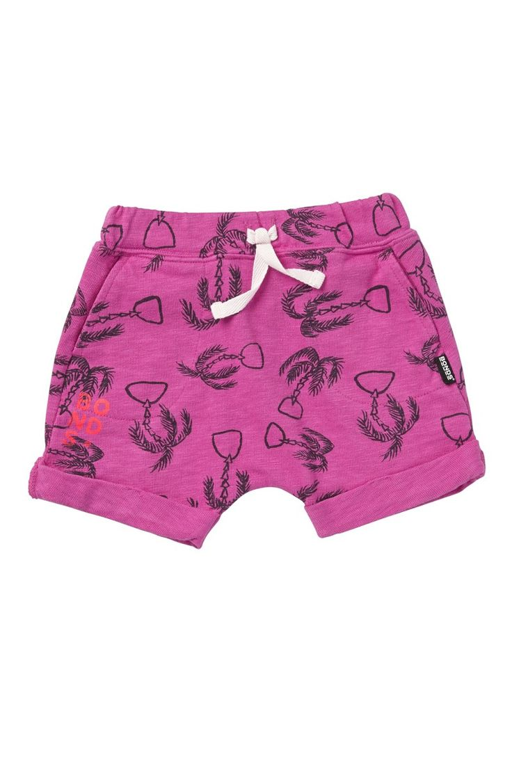 Bonds print short. Great bright pink shorts with palm detail. Featuring in Bonds Summer range which is running a tropical theme.