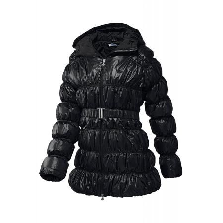 adidas | DOWN LONG HOODED JACKET Damen Winterjacke | schwarz | VAOLA