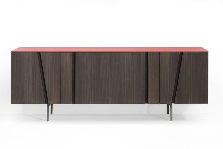 Oak sideboard PICTURE by Lema design Cairoli