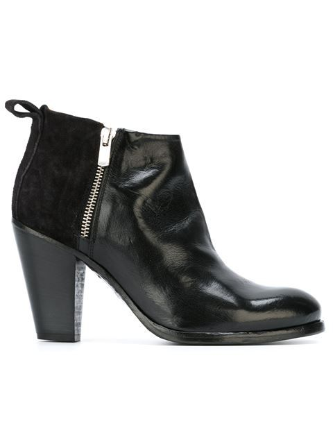 Shop Officine Creative panelled ankle boots in Tassinari from the world's best independent boutiques at farfetch.com. Shop 300 boutiques at one address.