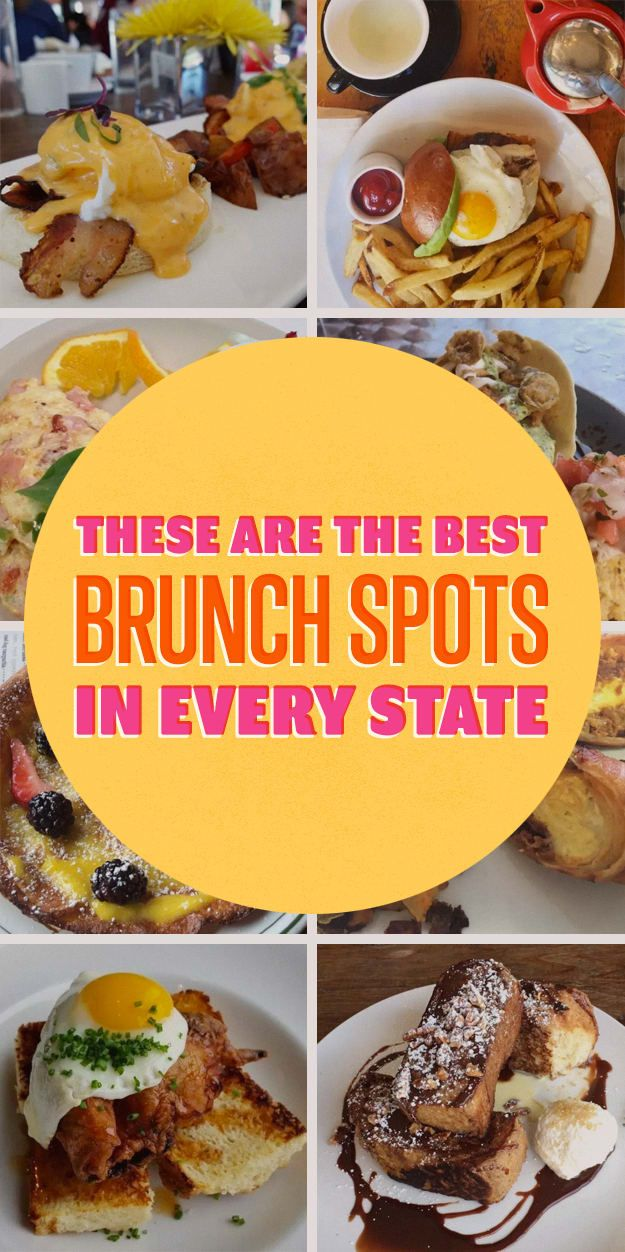 The Best Brunch Spots In Every State, According To Yelp