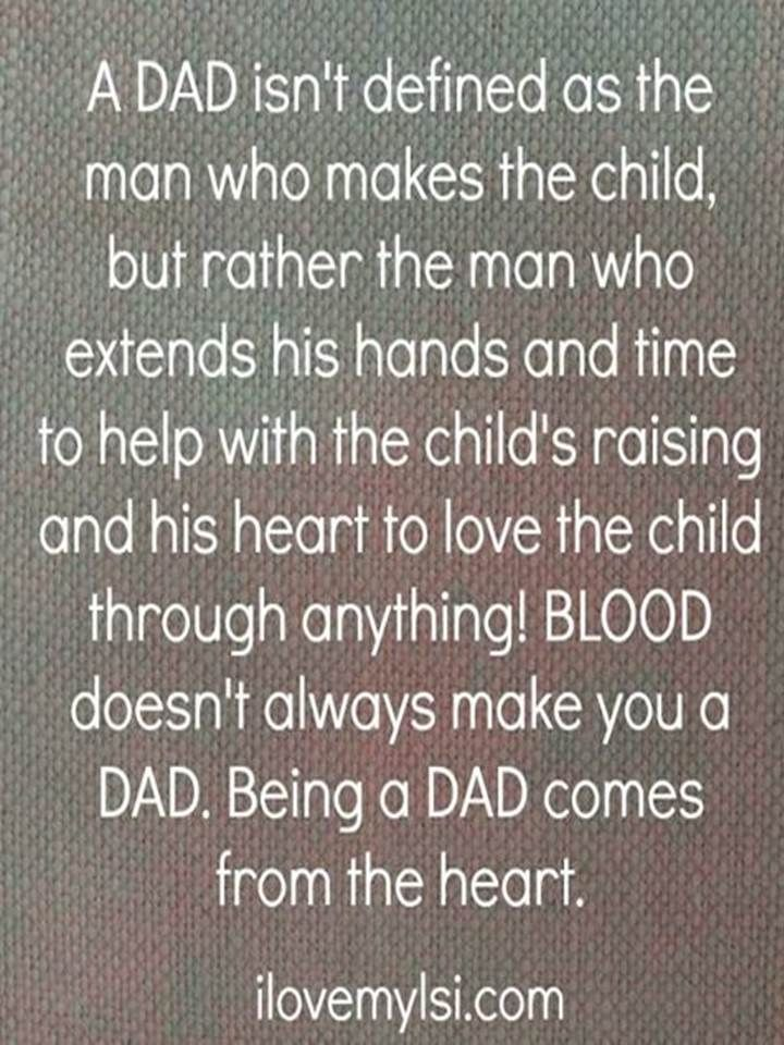 it's difficult to have a Dad for your kids if you cut him out of your kids lives for them