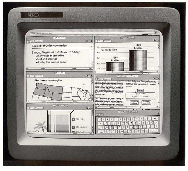 Xerox Star. Дизайнер Дэвид Смит