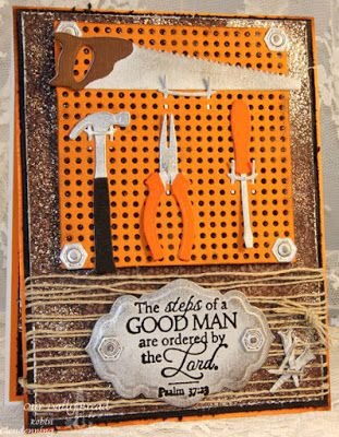 ODBDSLC241 Our Daily Bread Designs Stamp sets: Good Man, ODBD Custom Dies: Workshop Tools, Pegboard and Hooks, Antique Labels and Borders, ODBD Vintage Ephemera  Paper Collection
