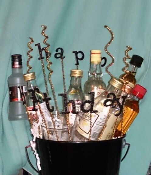 25+ Best Ideas About Mini Alcohol Bouquet On Pinterest