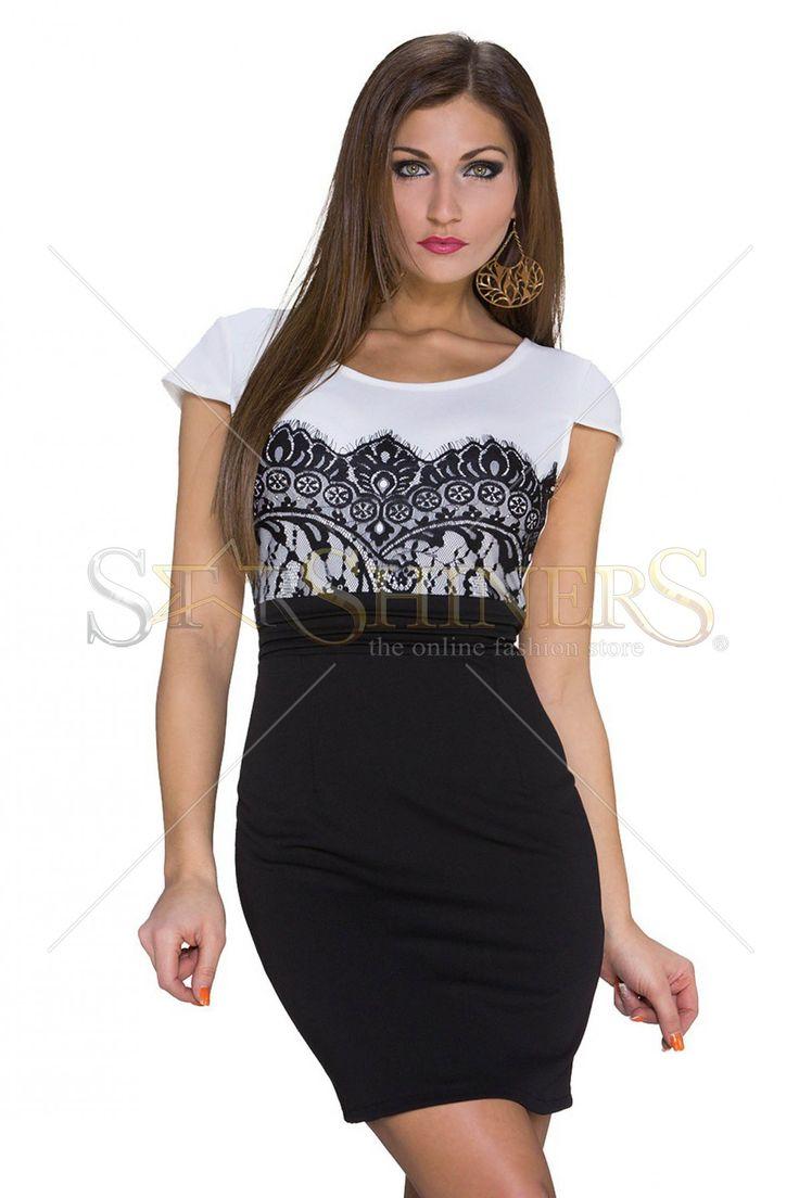 Elegant Girl White Dress