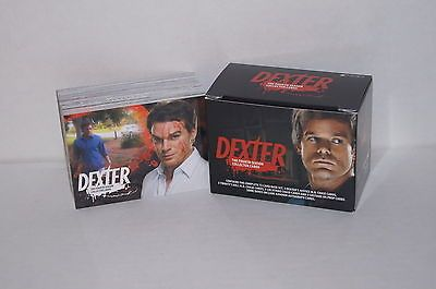 DEXTER SEASON 4 Complete Boxed Card Set MICHAEL C. HALL & JOHN LITHGOW
