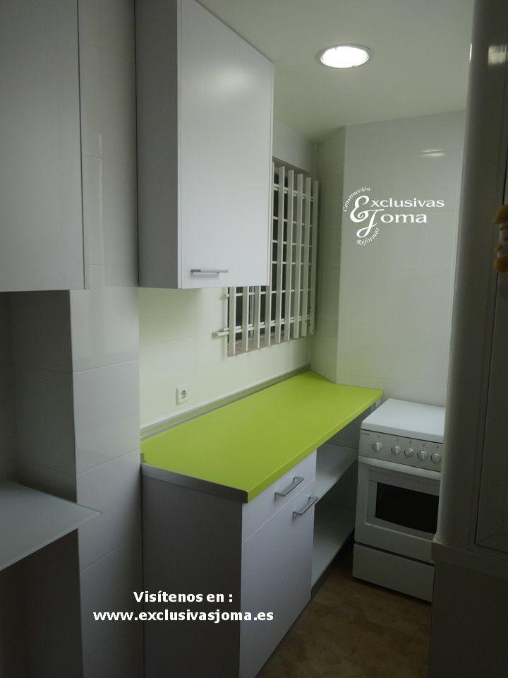 M s de 25 ideas incre bles sobre encimeras de color verde - Muebles bravo murillo ...