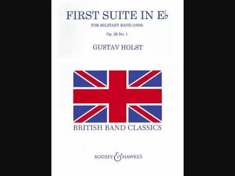 First Suite in Eb by Gustav Holst  Performed by the U.S. Marine Band
