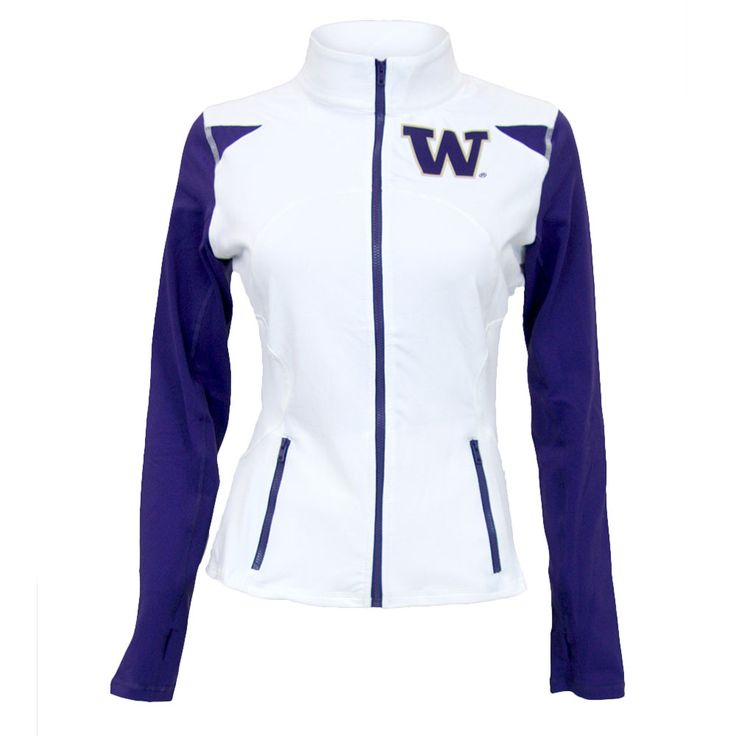 Washington Huskies NCAA Womens Yoga Jacket - Twin Visions yoga Jackets are perfect for either cheering on your favorite team or working out in style and comfort. With distinguishable school team colors and markings twin Vision allows you to feel a part of the game. Using high quality custom woven fabric these jackets are thick stretchy and durable. This item Usually ships within 2-3 business days.