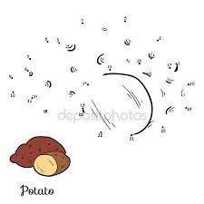 Výsledek obrázku pro omalovánka brambory