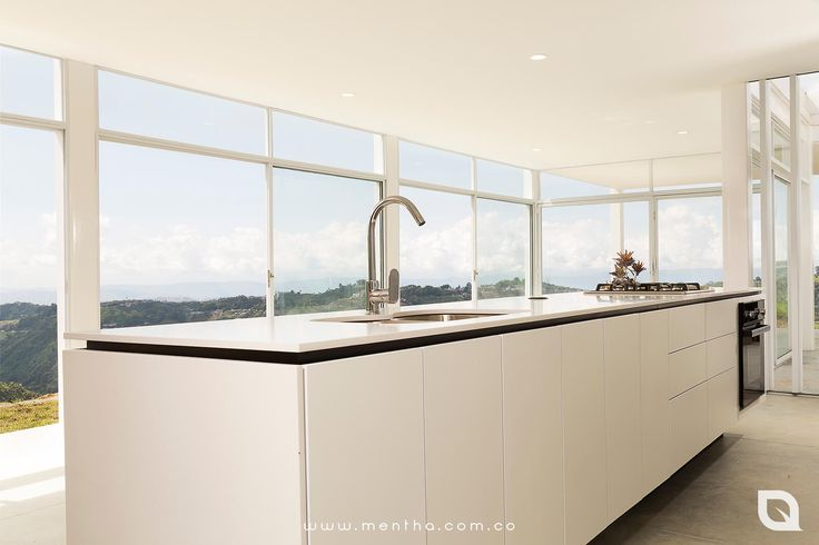 Mesón Silestone Blanco Zeus  #Cocinas #CocinasExclusivas #CocinasModernas #DiseñoDeInteriores #Arquitectura #Manizales #EjeCafetero