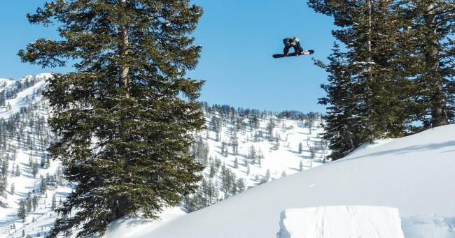 Travis Rice and his crew break down the labor involved in building a perfect backcountry kicker.