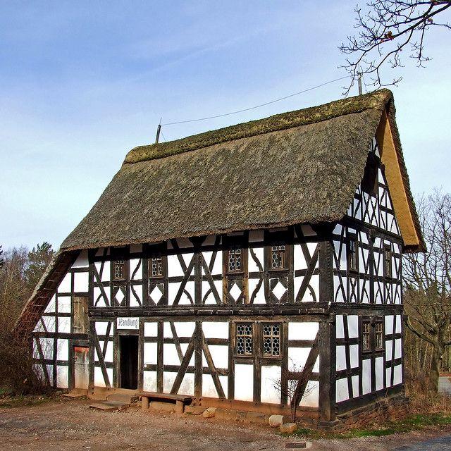 Fachwerkhaus aus Großholbach im Freilichtmuseum Kommern | Flickr - Photo Sharing!