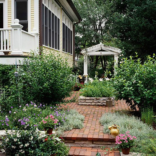Small garden ideas for Small rose garden plans