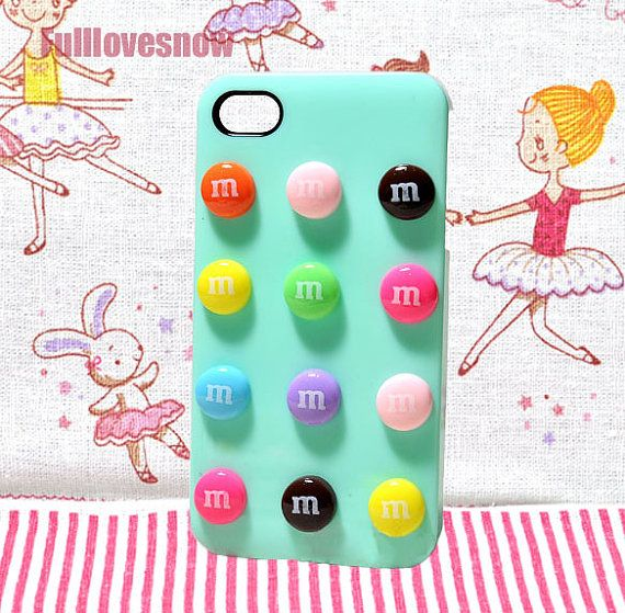 M Sweet iPhone cover candy phone case for iPhone 4 iPhone 4S or iPhone 5