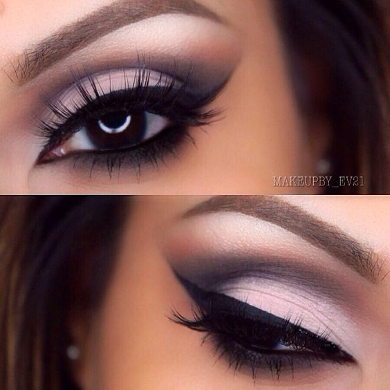 Gorgeous eye makeup: