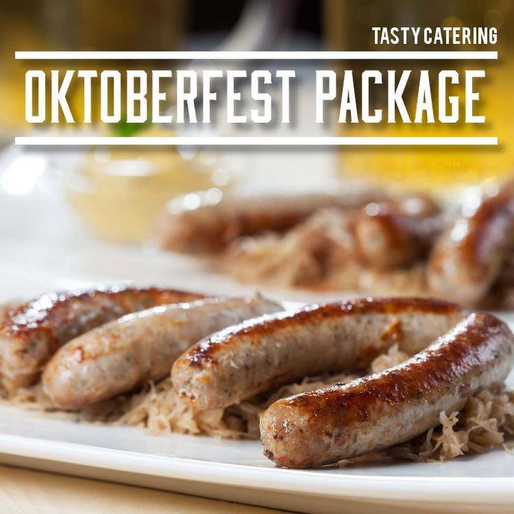 Celebrate oktoberfest with traditional german food for Authentic german cuisine