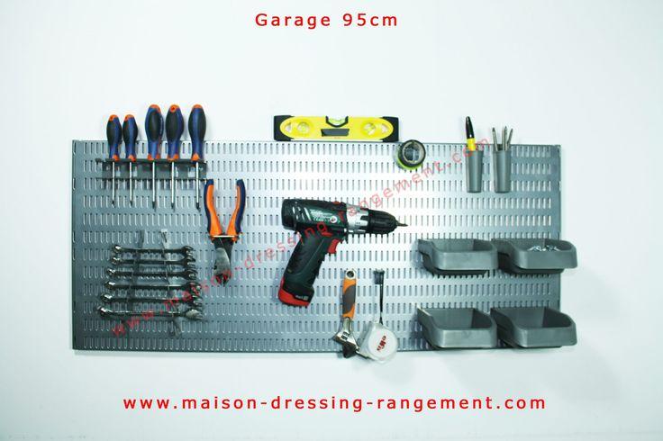 Elfa par MDR - maison Dressing Rangement www.maison-dressing-rangement.com Un aménagement pour votre garage 95m