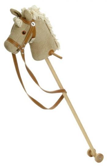 De Vliegenzwam houten speelgoed - STOKPAARDEN - stokpaarden