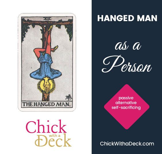 Hanged Man as a Person