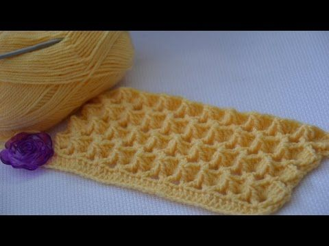 The Marshmallow Crochet stitch