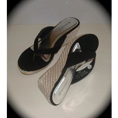 Black wedge summer shoe size 6 for R199.00