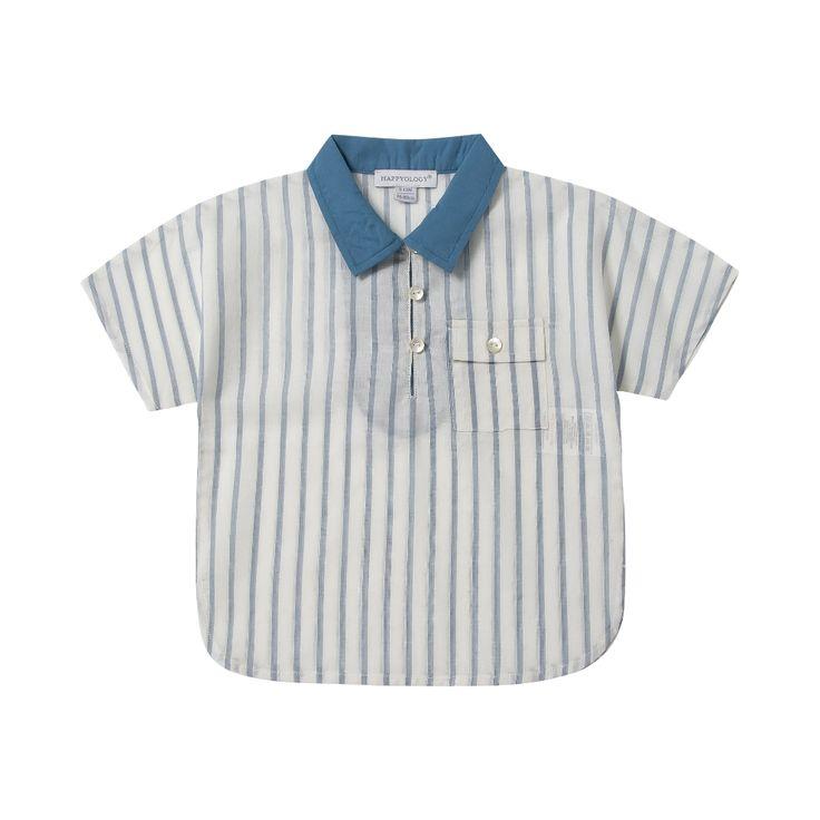 Cotton Stripe Shirt | Happyology Coast Collection SS16