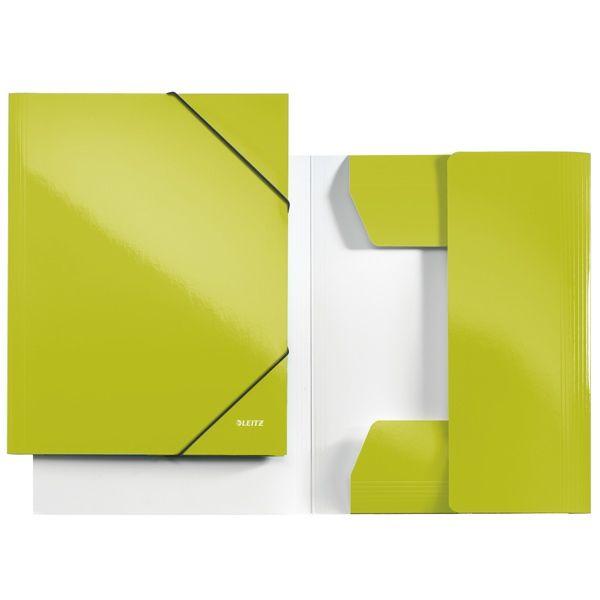 Deze opbergmappen zijn gemaakt van speciaal karton en afgewerkt met PP gelamineerd papier zodat de elastomap een glossy uitstraling krijgt.