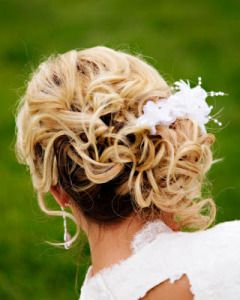 hair and makeup by Signature Brides, low side bun