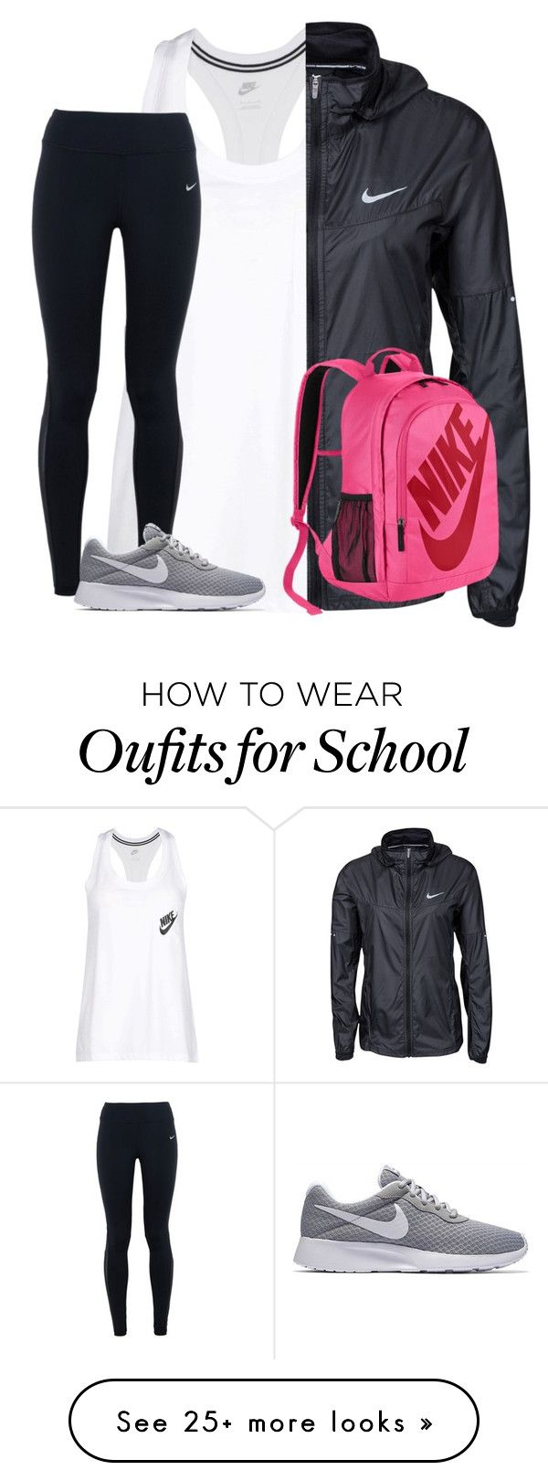 """""""just do it ✊"""" by mimichavi on Polyvore featuring NIKE"""