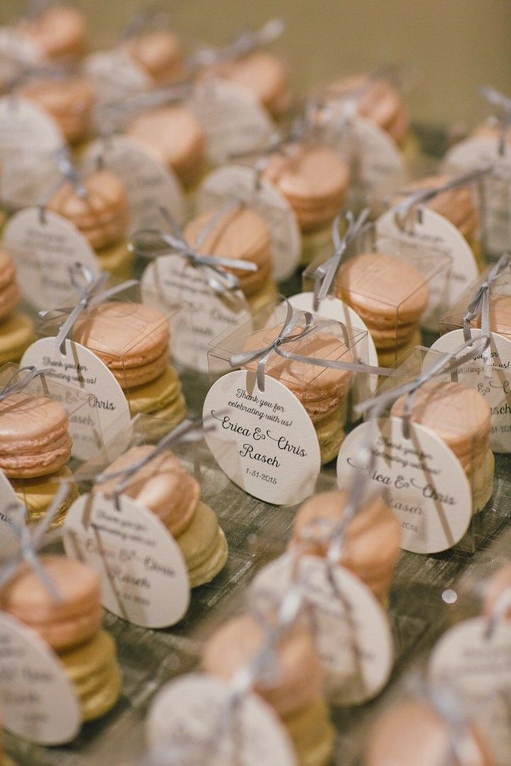 Best 10 Macaroon wedding favors ideas on Pinterest Gold macaron