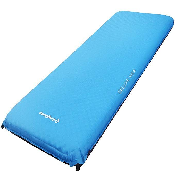 Oct 1, 2018 - Buy KingCamp DELUXE Series Thick Self-Inflating Camping Pad