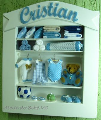 Ateliê do Bebê MG: mini closet