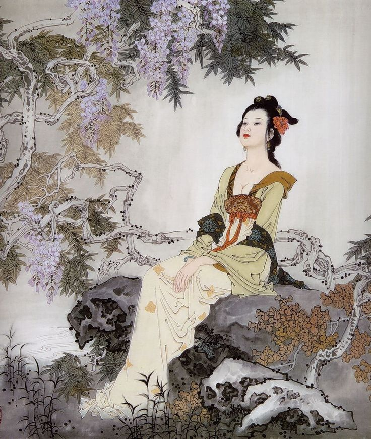 Китайский художник О Сян Рен. Комментарии : LiveInternet - Российский Сервис Онлайн-Дневников