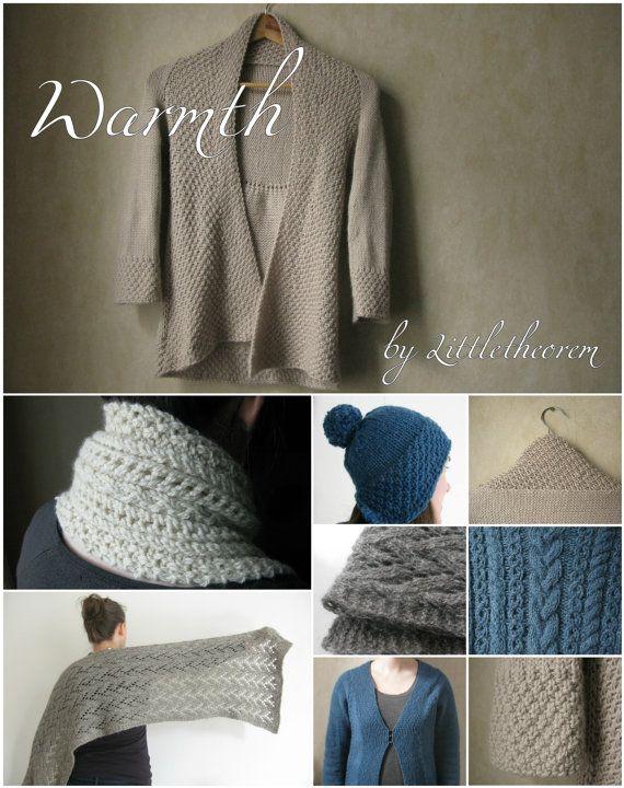 Warmth Knitting Pattern Ebook Pdf/ Knitting by littletheorem