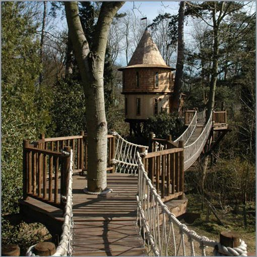 Best Tree Houses Images On Pinterest Treehouses