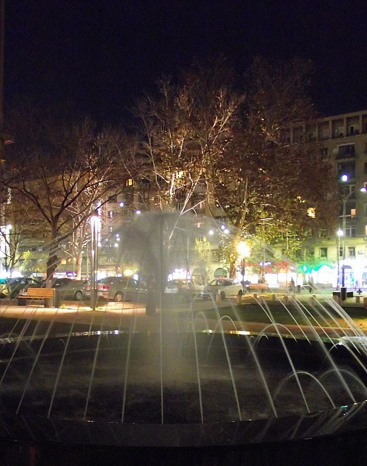 Bucharest at night by nancydev
