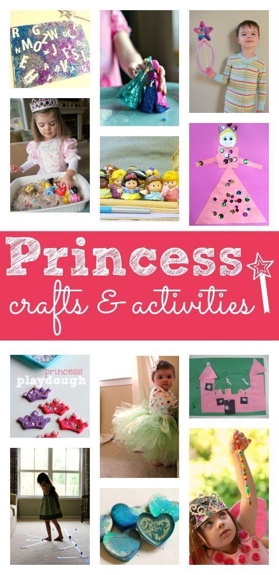 Princess Activities For Preschool Preschool Projects