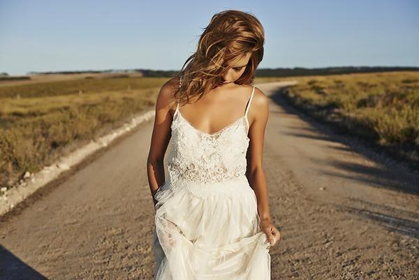 Grace loves lace-bohemian wedding dresses 2015