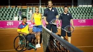 Tenis cu suflet la BCR Open Romania